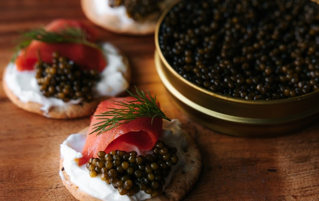 Her kan du købe caviar: Føl dig som en rigmand